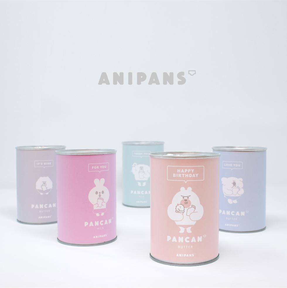 『ANIPANS』 缶入りソフトパン