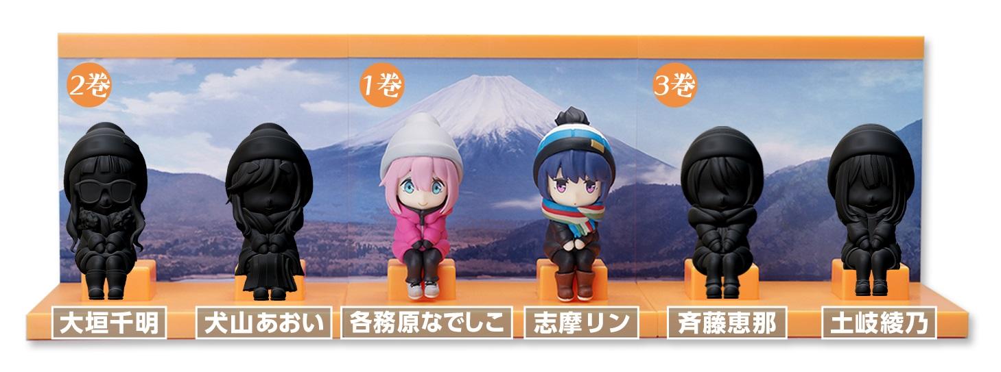 『F:NEX』にて全3巻購入で、メインキャラクター6人を揃えることが可能