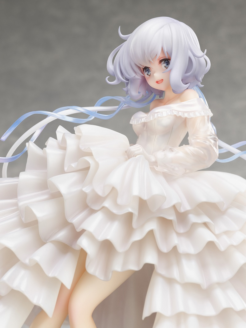 『紺野純子 -ウエディングドレス- 1/7スケールフィギュア』