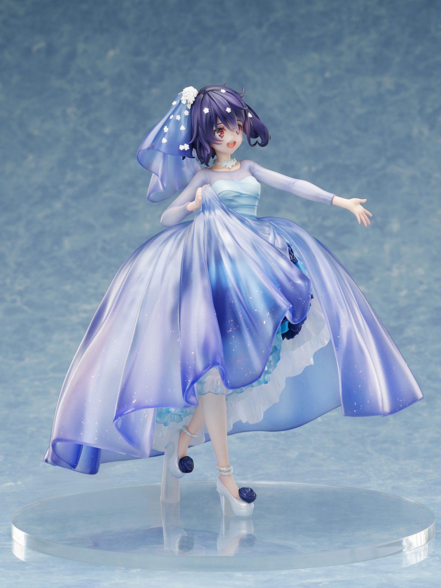 『水野愛 -ウエディングドレス- 1/7スケールフィギュア』』